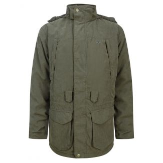 Hoggs of Fife Glenmore Waterproof Shooting Jacket Olive Green