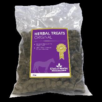 Global Herbs Herbal Treats 3kg - Chelford Farm Supplies