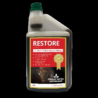 Global Herbs Restore Liquid 500ml - Chelford Farm Supplies