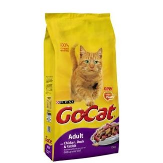 Go Cat Complete Adult Duck Rabbit & Chicken Cat Food 10kg