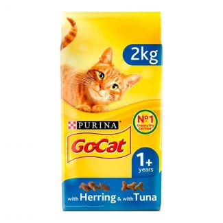 Go Cat Complete Adult Tuna Herring & Vegetable Cat Food 2kg   Chelford Farm Supplies