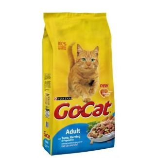 Go Cat Complete Adult Tuna Herring & Vegetable Cat Food 10kg