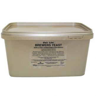 Gold Label Brewers Yeast Skin and Coat Supplement For Horses 3kg - Chelford Farm Supplies