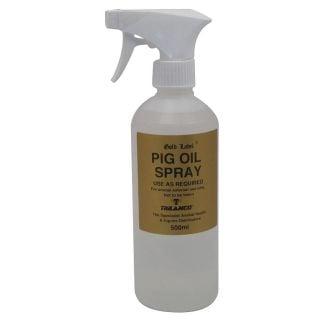 Gold Label Pig Oil Spray 500ml- Chelford Farm Supplies