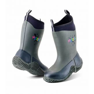 Grubs Kids Muddies Icicle Wellington Boots