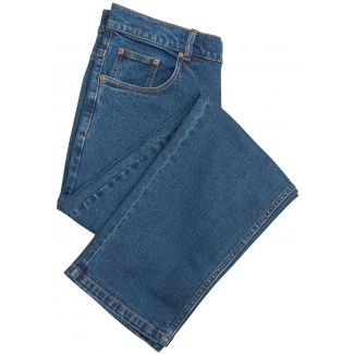 Hoggs of Fife Mens Comfort Jeans Blue