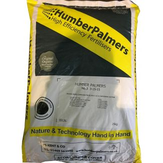 Humber Palmers No 3 Autumn/Winter Fertiliser 25kg