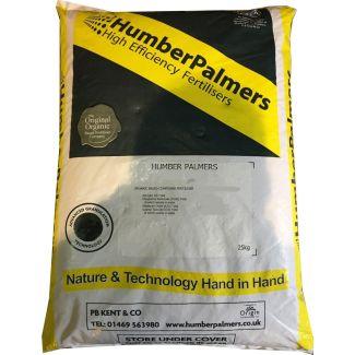 Humber Palmers No 12 Spring/Summer Fertiliser 25kg - Cheshire, UK