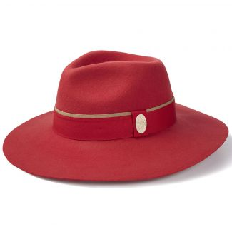 Hicks & Brown Ladies Oxley Wide Brimmed Fedora Hat