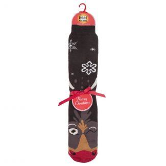Heat Holders Rudolph Christmas Long Socks - Chelford Farm Supplies