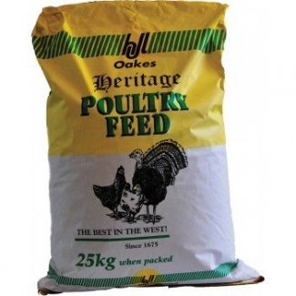 H J Lea Oakes Turkey Rearer/Finisher Pellets 25kg