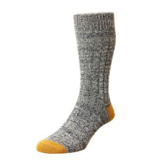 HJ Socks Mens Ramsey Chunky Cotton Socks | Chelford Farm Supplies