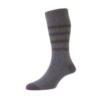 HJ Socks Mens Hillberry Chunky Cotton Socks | Chelford Farm Supplies