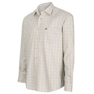 Hoggs of Fife Inverness Cotton Tattersall Shirt - Chelford Farm Supplies