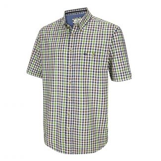 Hoggs of Fife Mens Aberdour Short Sleeve Checked Shirt - Chelford Farm Supplies