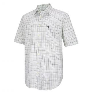 Hoggs of Fife Mens Muirfield Short Sleeve Shirt - Chelford Farm Supplies