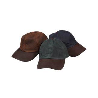 Hoggs of Fife Waxed Baseball Cap - Chelford Farm Supplies
