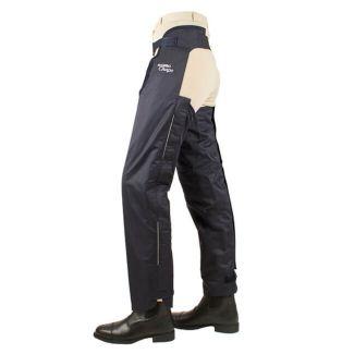 Horseware Full Leg Cotton Chaps Navy - Chelford Farm Supplies