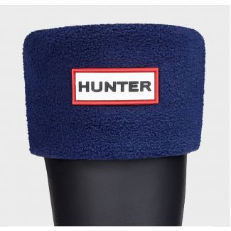 Hunter Kids Welly Sock Navy