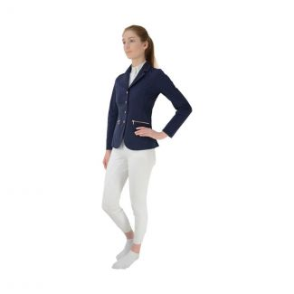Hy Equestrian HyFASHION Rosalind Rose Gold Show Jacket - Chelford Farm Supplies
