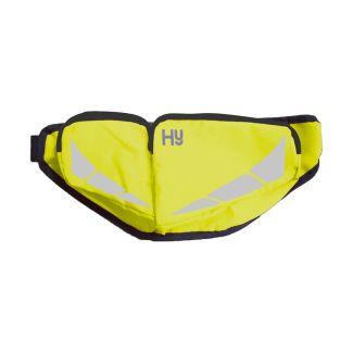 Hy Equestrian HyVIZ Reflector Bum Bag Yellow - Chelford Farm Supplies