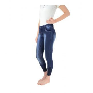 HyPerformance Ladies Cambridge Denim Look Breeches