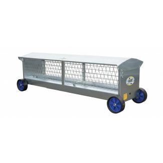 IAE Sheep Hayrack on Wheels
