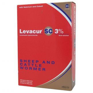 Levacur Sheep and Cattle Wormer