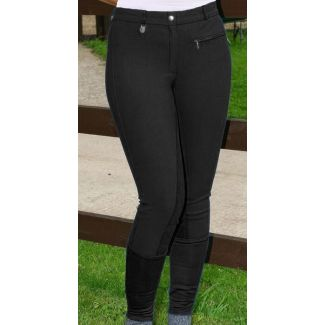 Jeffries Ladies Competition Breeches Black