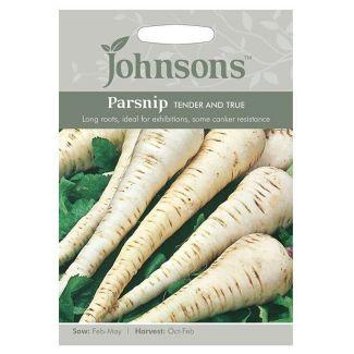 Johnsons Parnsip Tender & True Seeds