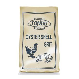 Jondo Oyster Shell Grit 25kg   Chelford Farm Supplies