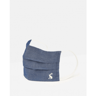 Joules Reusable Face Mask Covering-Chambray