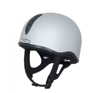 Champion X-Air Plus Riding Helmet Silver
