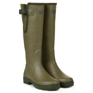 Le Chameau Ladies Vierzon Jersey Lined Boots - Chelford Farm Supplies