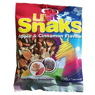 Likit Snaks Horse Treats Apple & Cinnamon