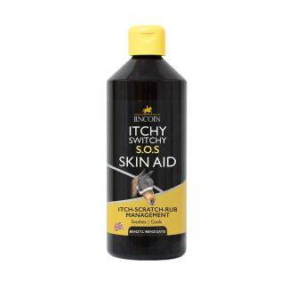 Lincoln Itchy Switchy S.O.S Skin Aid 500ml | Chelford Farm Supplies