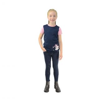 Little Rider Little Unicorn Breeches Navy/Candy Pink - Childs - Chelford Farm Supplies