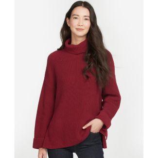 Barbour Ladies Stitch Cape Sweater   Chelford Farm Supplies