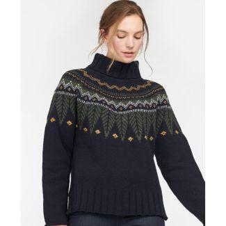 Barbour Ladies Hebden Knit Jumper   Chelford Farm Supplies