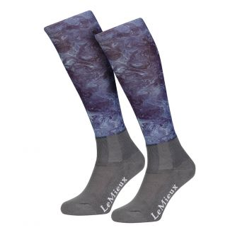 LeMieux Adults Glacé Riding Socks