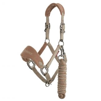 LeMieux Vogue Fleece Headcollar & Leadrope