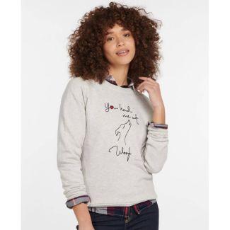 Barbour Ladies Westbury Overlayer Sweatshirt   Chelford Farm Supplies