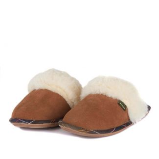 Barbour Ladies Lydia Mule Slippers - Cheshire, UK