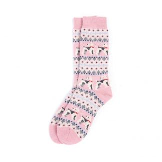 Barbour Ladies Terrier Fairisle Socks