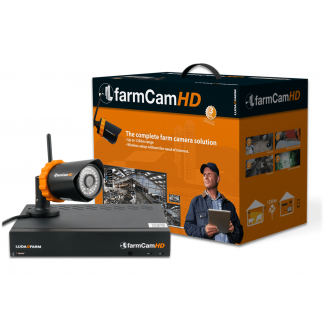 FarmCam HD CCTV Camera System - Cheshire, UK