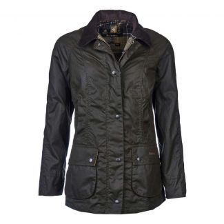 Barbour Ladies Classic Beadnell Wax Jacket - Cheshire, UK