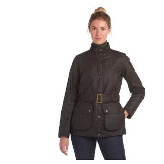 Barbour Ladies Montgomery Waxed Cotton Jacket