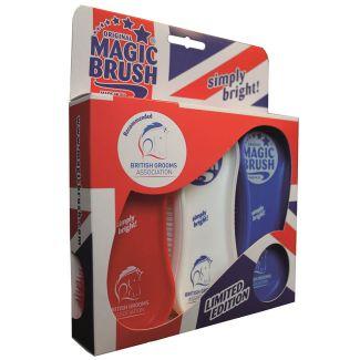 MagicBrush Grooming Brush Set Pack of 3