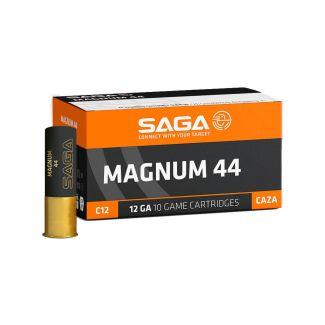SAGA Magnum 12 Gauge 44 Gram Plastic Shotgun Cartridge