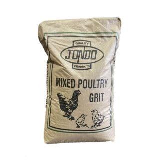 Jondo Mixed Poultry Grit 25kg   Chelford Farm Supplies